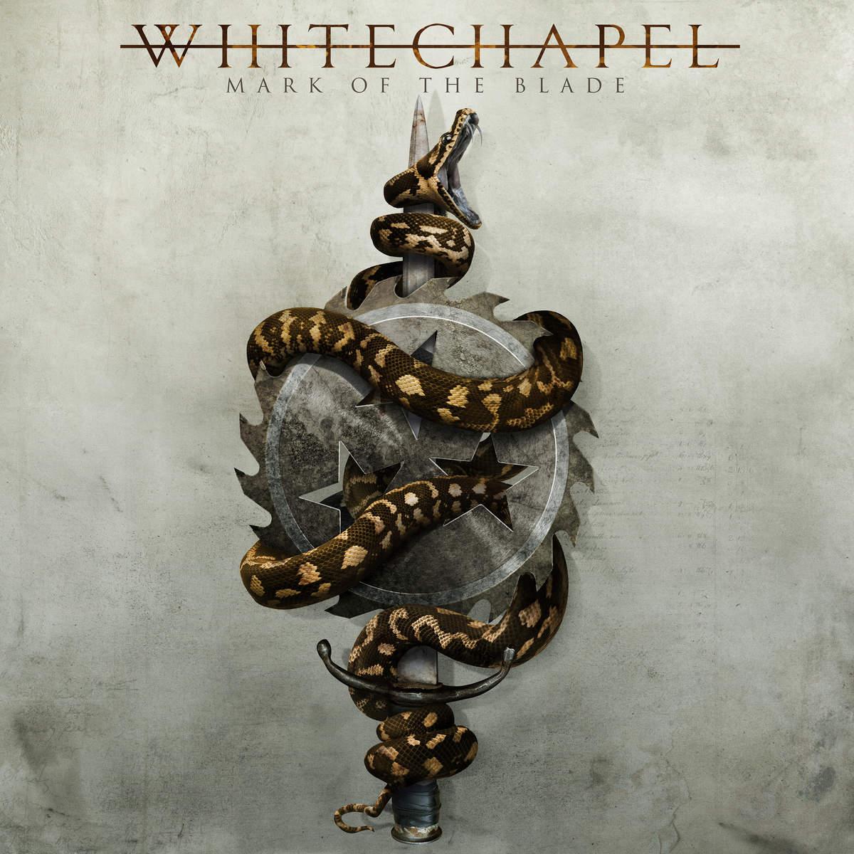 Whitechapel mark of the blade cover