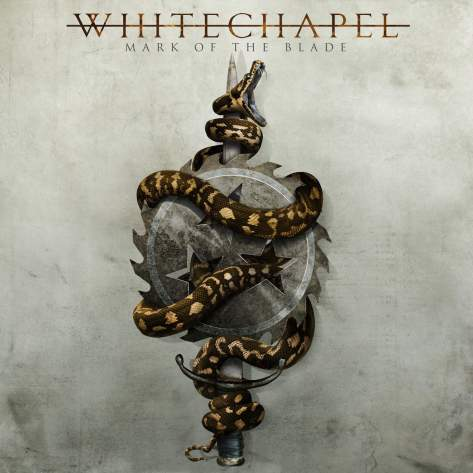Whitechapel mark of the blade cover
