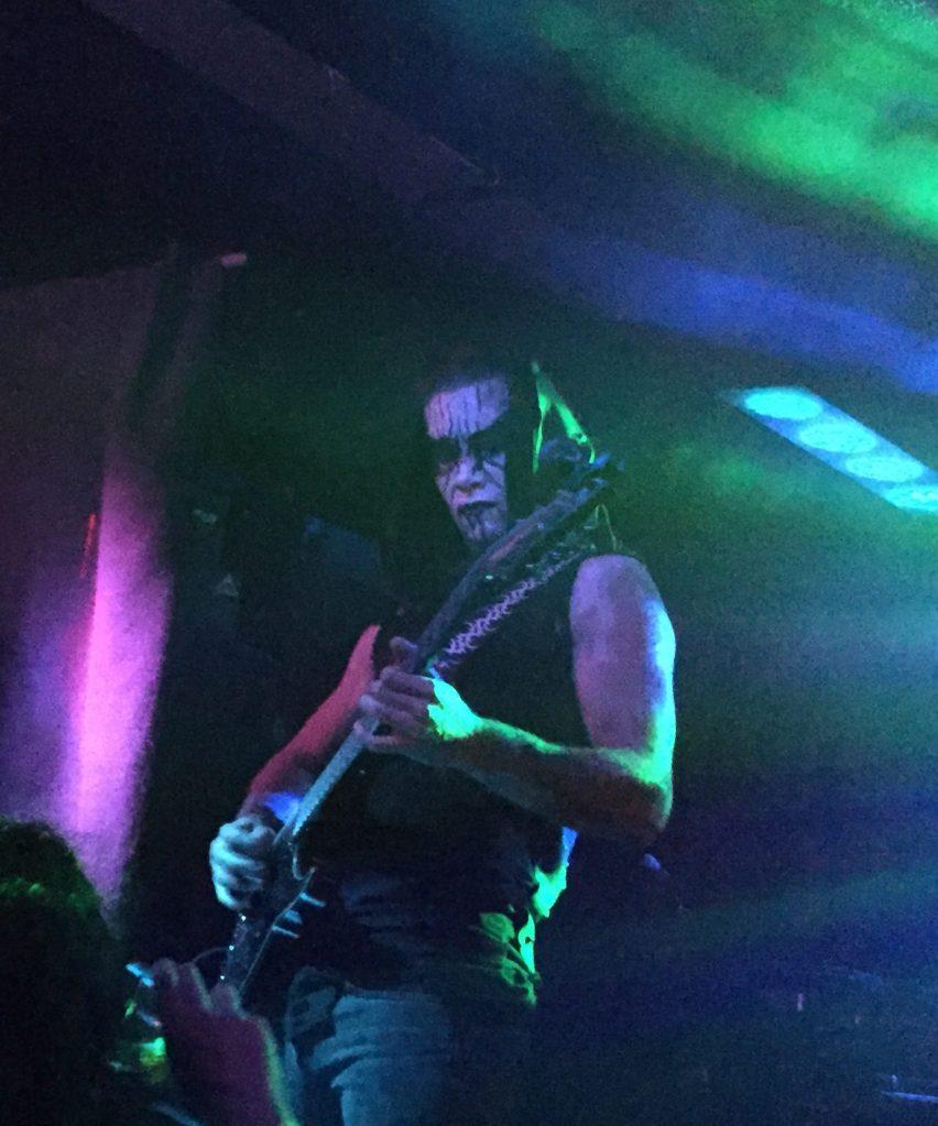 Hugh Marshall vocalist of Mythraeum