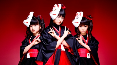 Babymetal will be THE metal defenders in semi animated series.