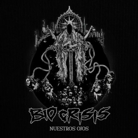 "Sick artwork for Bio Crisis's new single ""Nuestros  Ojos"" (Our Eyes)"