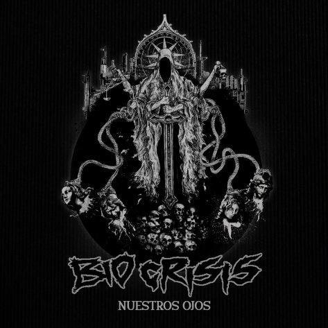 """Sick artwork for Bio Crisis's new single """"Nuestros  Ojos"""" (Our Eyes)"""