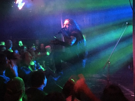 Vocalist of Goatwhore, Ben Falgoust reels audiences in at The Merrow