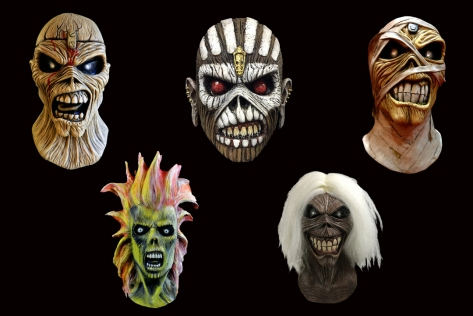 Stay metal this Halloween with these officially licensed Iron Maiden Masks.