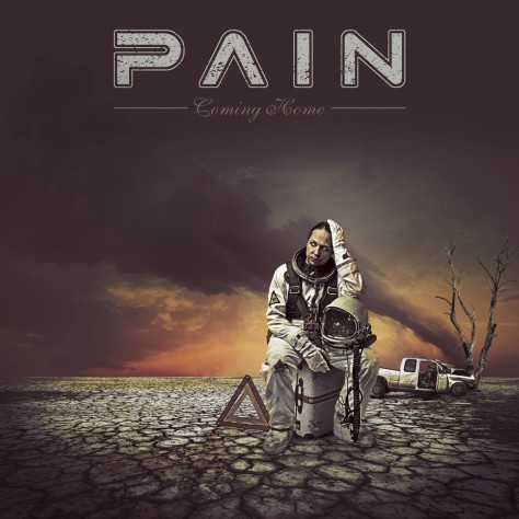 "The artwork for Pain's 8th studio album ""Coming Home"""