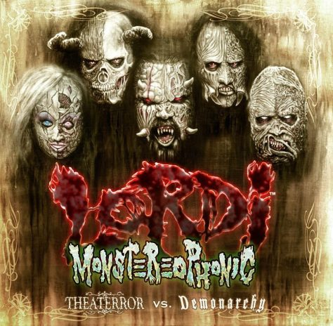"Lordi invades Earth in time for Halloween with ""Monstereophonic (Theaterror vs. Demonarchy)"""