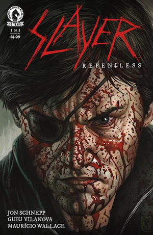 Issue #1 of Slayer's brutal saga!