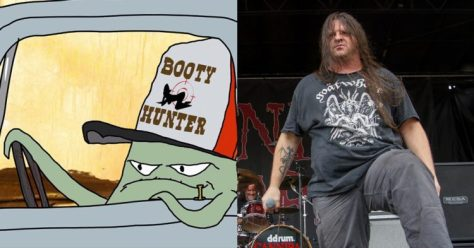 Country goes a little death metal with Cannibal Corpse covering the Squidbillies theme song.
