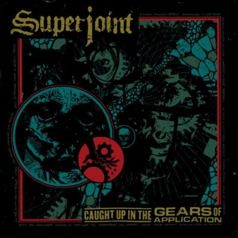 "The album cover for the upcoming album from Superjoint ""Caught in The Gear of Application"" out on Nov. 11"
