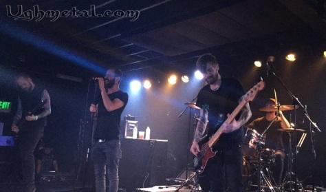 (L to R: Guitarist Robin Staps, vocalist Loïc Rossetti, bassist Mattias Hägerstrand, drummer Paul Seidel)