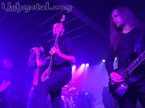 We all devoured Swallow The Sun. (L to R: Keyboardist Aleksi Munter, vocalist Mikko Kotamäki, bassist Matti Honkonen and guitarist Juha Raivio)