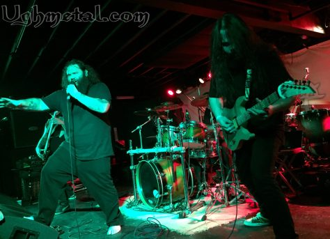 Skol! Heres to you, Helsott! L to R: Vocalist Eric Dow and lead guitarist  David Walston)