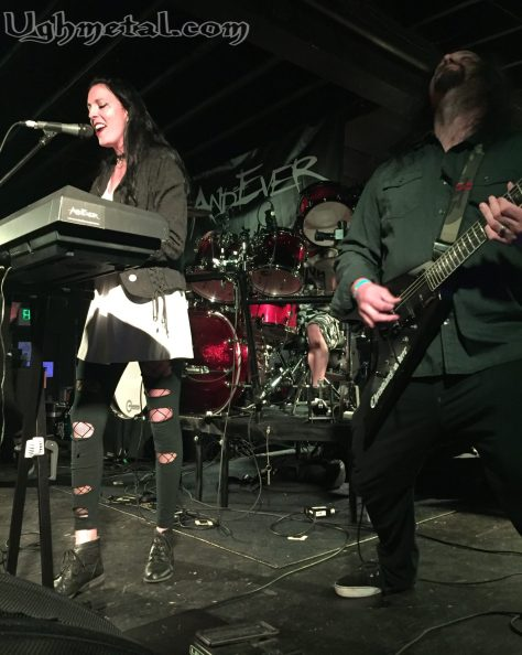 Vocalist Lindsay Hail and guitarist Steven Almos of Andever made us believe.