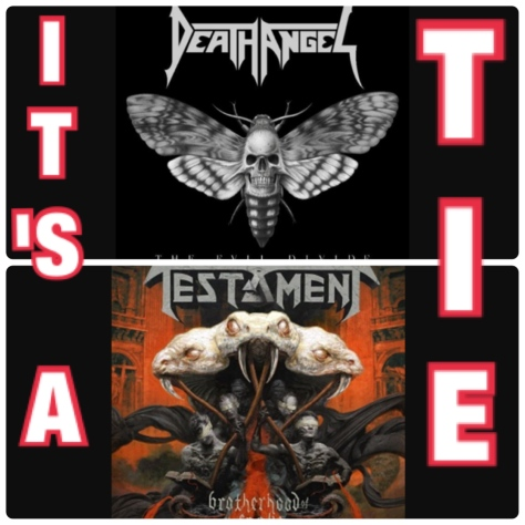 Death Angel and Testament can not divide the crown