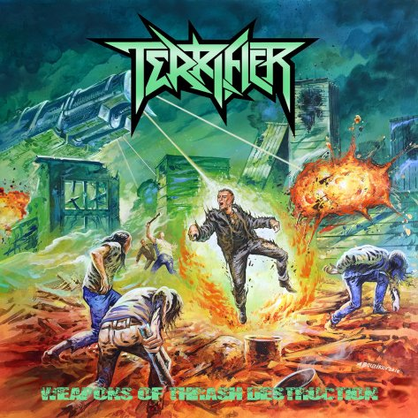 "Terrifier bust out their ""Weapons of Thrash Destruction"""