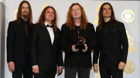 Grammy Peeps: YAY 4 METALLICA! Metalheads:........